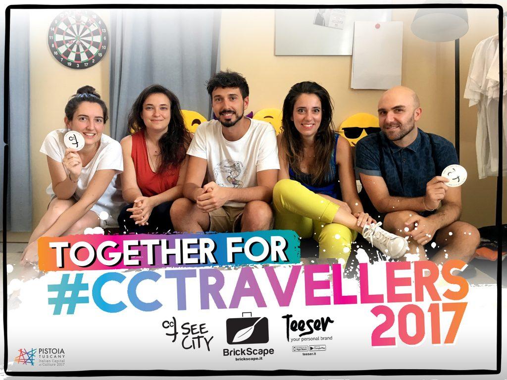 Creative Curious Travellers 2017 Teeser veste Brickscape e CCTSeeCity