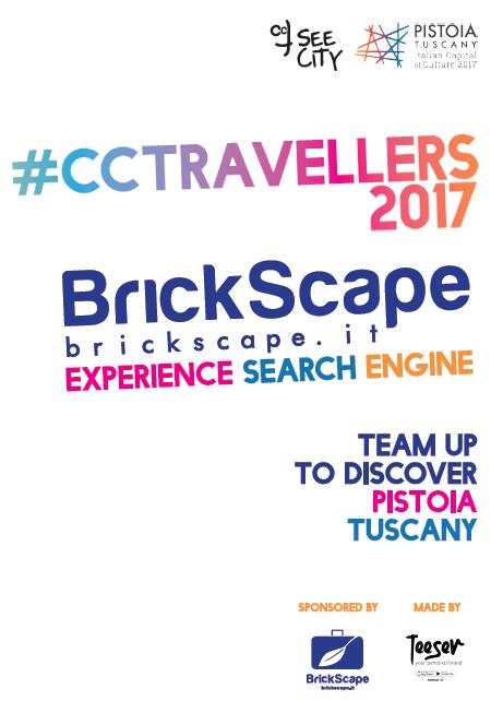 Teeser veste Brickscape e CCTSeeCity per CCTravellers2017