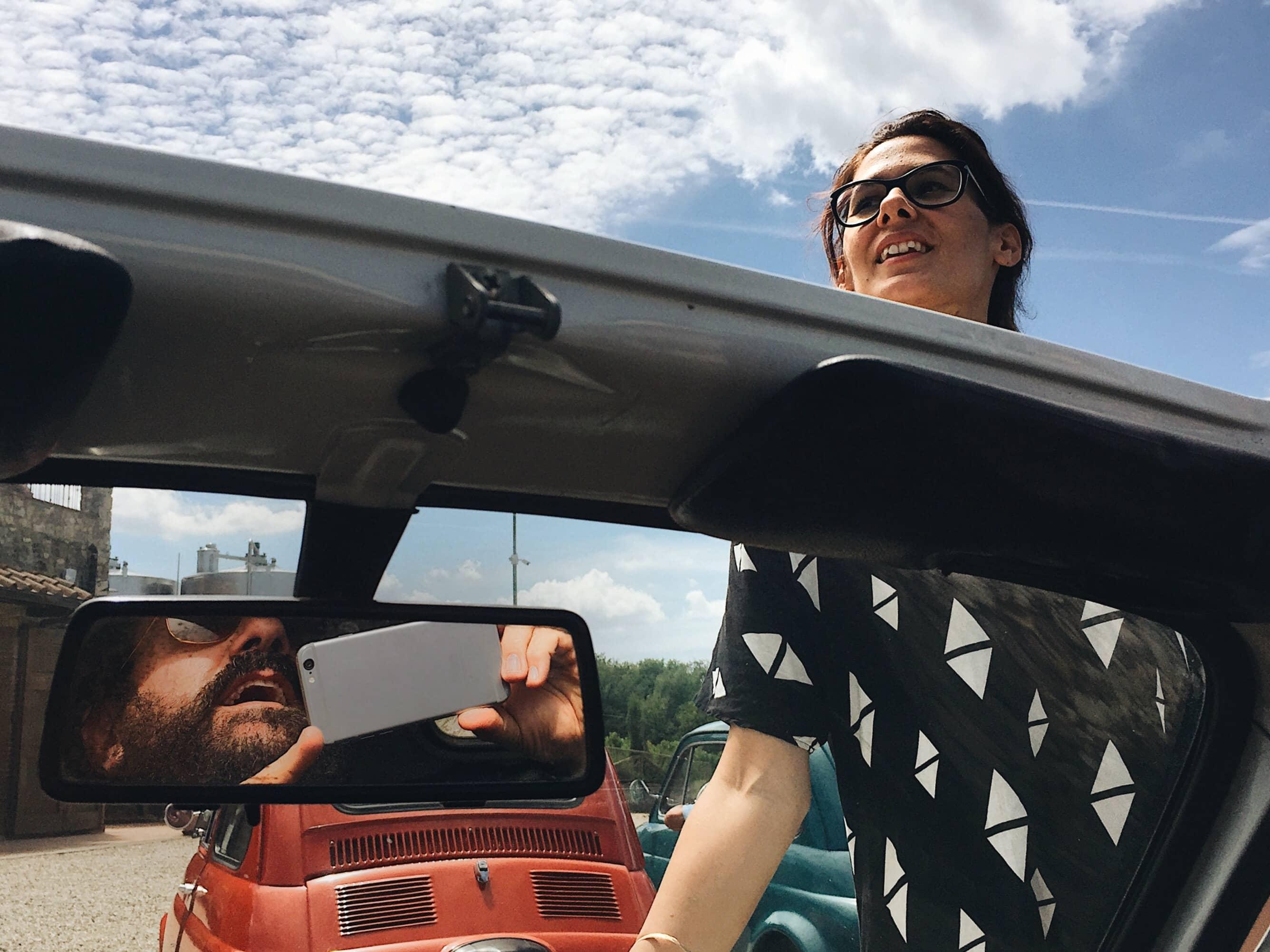 Nel Chianti in Cinquecento Esperienze in Viaggio con