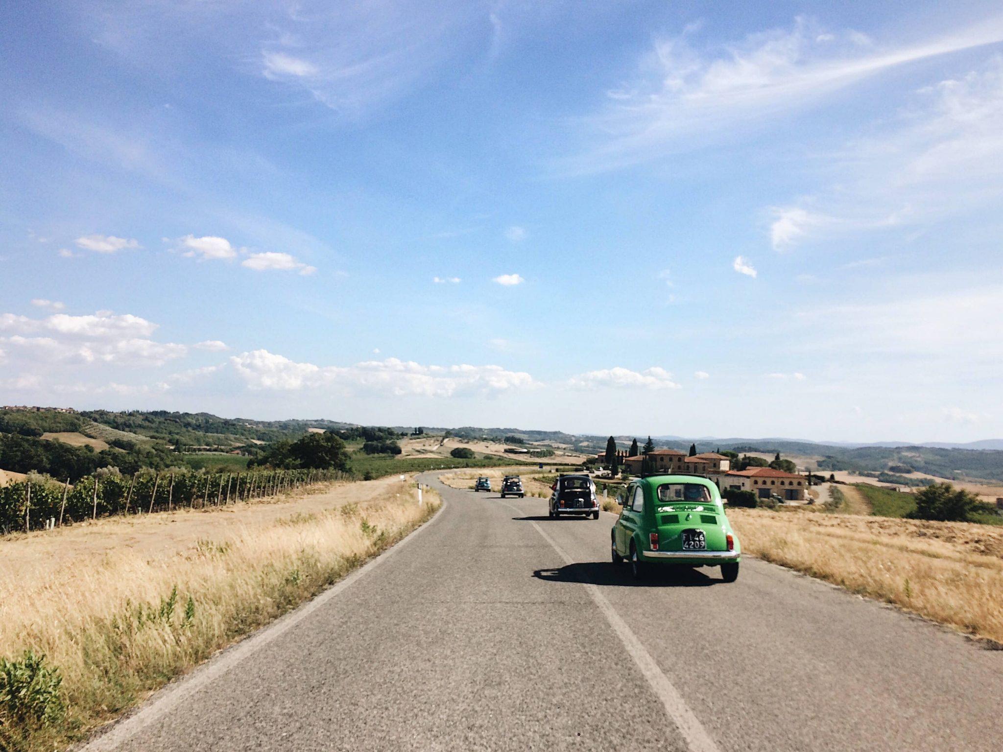 Nel Chianti in Cinquecento Esperienze in Viaggio con Brickscape