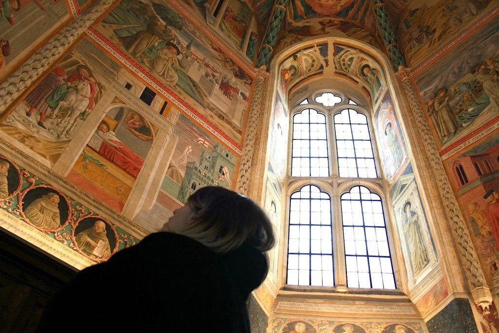 Alla scoperta di Montefalco con Benozzo e Perugino