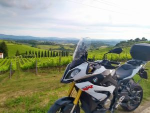 Spring's here! What's better than touring Tuscany in motorcycle?