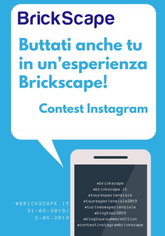 Contest Instagram! Buttati anche tu in un'esperienza Brickscape!