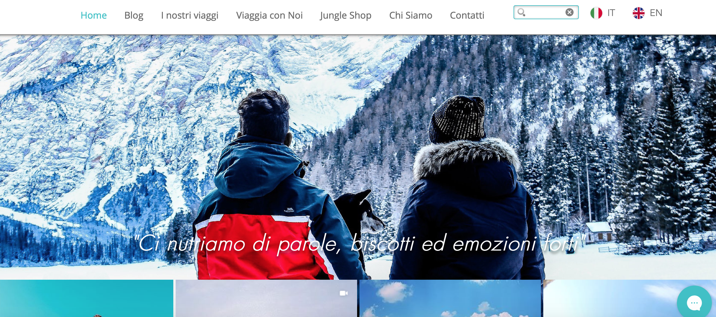 Jungle Bag Travel Blog: parole, biscotti ed emozioni forti...