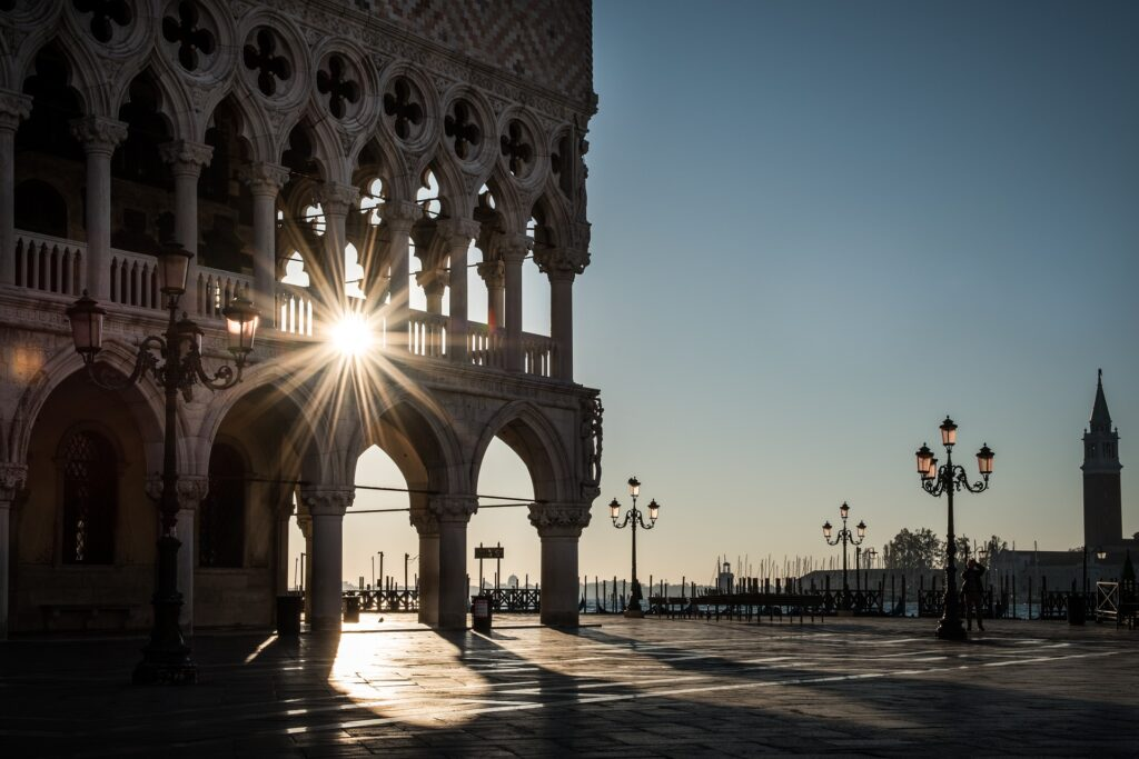 Piazza San Marco a Venezia e il lockdown