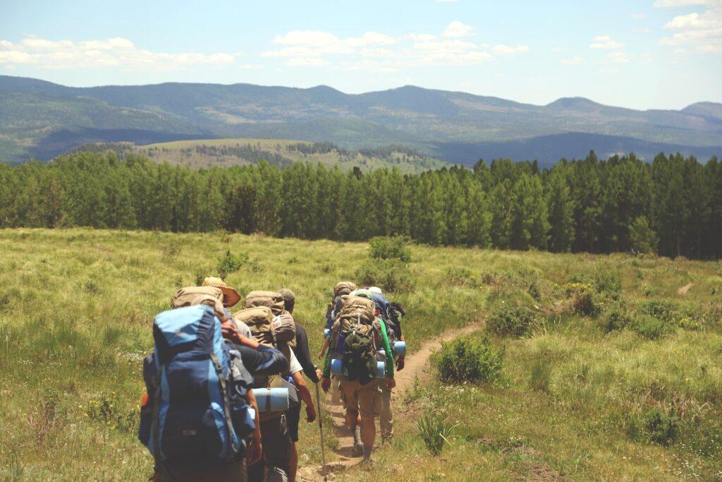 Trekking con la famiglia sulle Alpi
