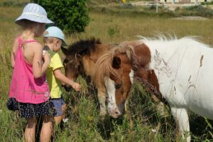 Vacanza a cavallo con i bambini
