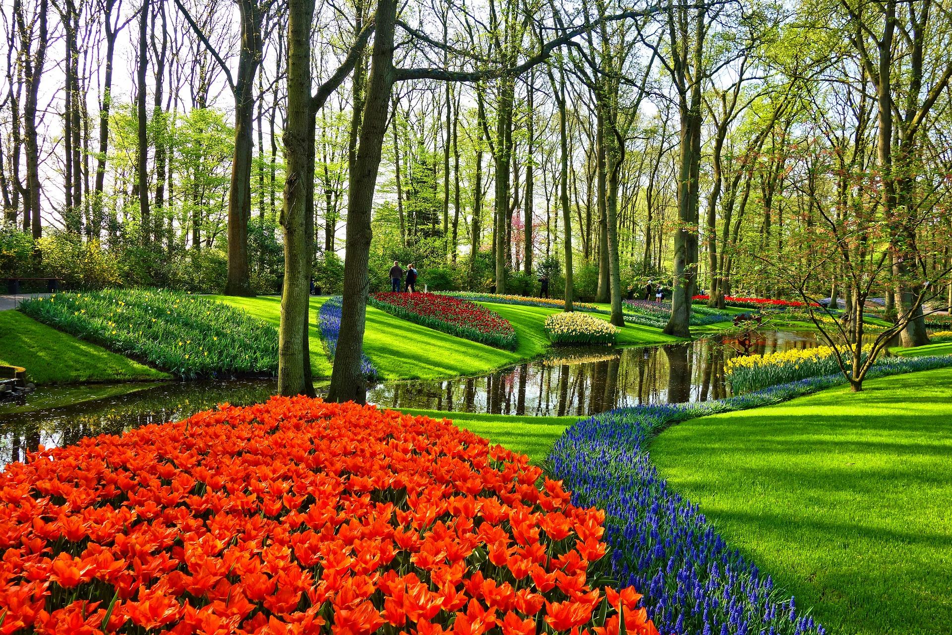 Giardini fioriti e parchi più belli