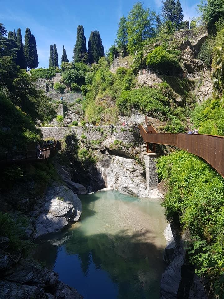 orrido di Bellano in Lombardia
