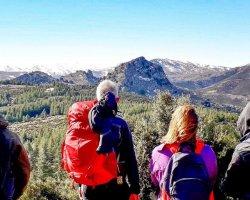 Trekking con gli asini nel Supramonte di Orgosolo in Sardegna