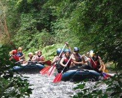Rafting sul fiume Corno e tiro con l'arco nel parco dei Monti Sibillini