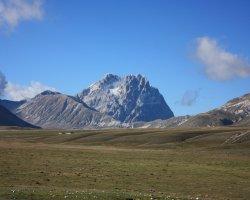 Nordic Walking a Campo Imperatore in Abruzzo