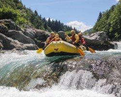 Canyoning lungo il torrente Artogna in Piemonte