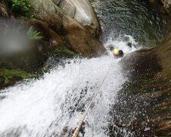Canyoning in Valsesia sul Sorba, adrenalina formato famiglia