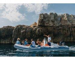 Isola delle Correnti in Sicilia: escursione in gommone
