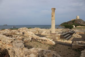 The archaeological site of Nora