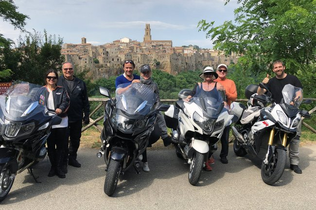 Motorcycle tour of Tuscany in one week