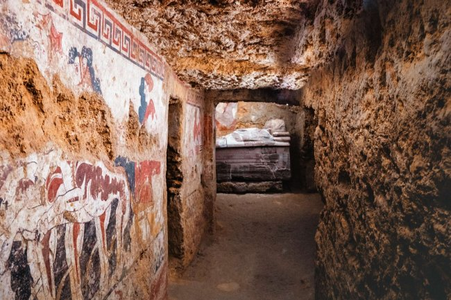 Tour of the Etruscans wonders