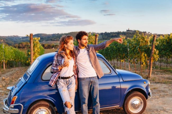 500 Vintage Tours on Chianti Roads
