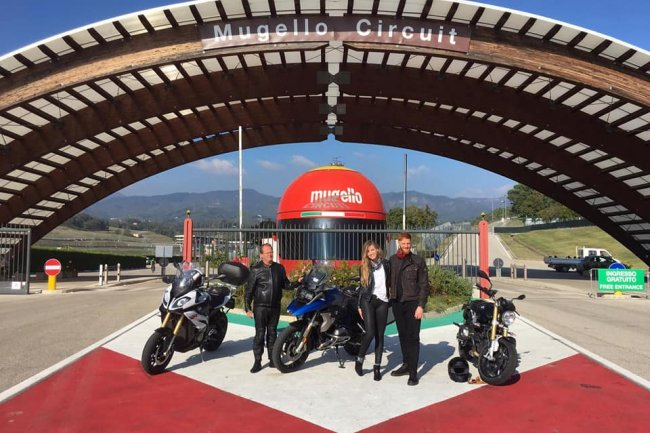 Tour in moto da Firenze al GP d'Italia nel Mugello