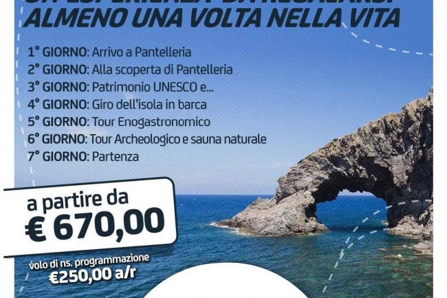 PANTELLERIA: A HOLIDAY TO MAKE AT LEAST ONE TIME ......