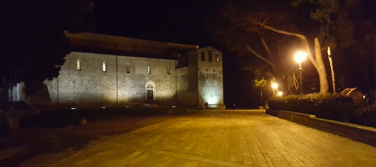 In Abruzzo Abbazia con vista sulla Costa dei Trabocchi